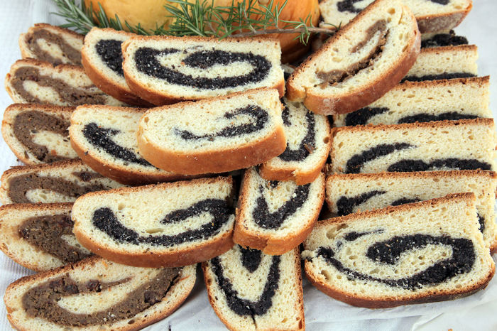 Poppy seed and walnut rolls Baked Biscuits Cake Christmas Cookies Dessert Filled Food Food And Drink Freshness Homemade Jam Pastry Popy Roll Seed Shortbread Snack Sugar Sweet Sweet Food Walnut