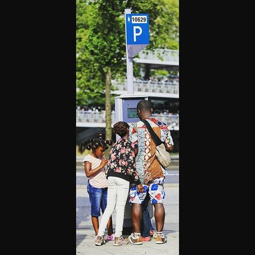 Invent it Yourself Africanpeople African Parking Amsterdam Amsterdamcity Instalike Instagood @canonnederland Photographs Photooftheday Storytelling