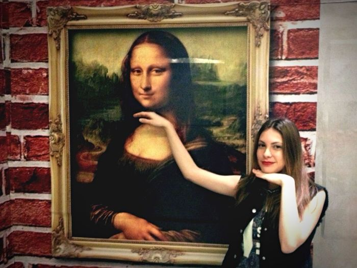 Monalisa Lagioconda Photo Art