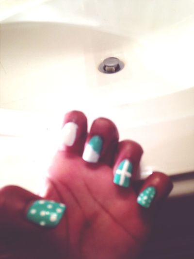 My nails :) that I did although Ion like em .
