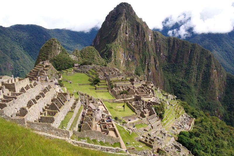 『マチュピチュ』 Machu Picchu Peru