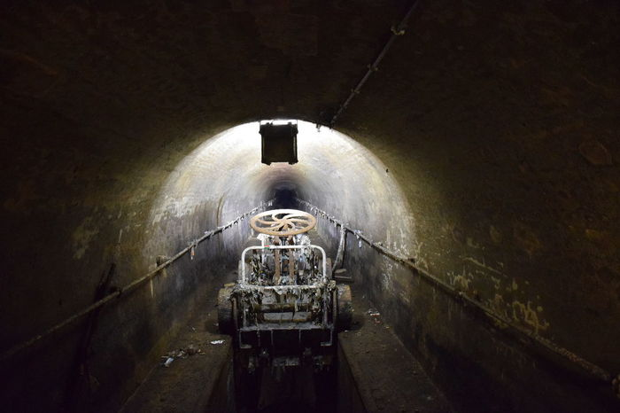 Tunnel Water No People Indoors  City Mechanical Things Sewage Cleaning.sewage