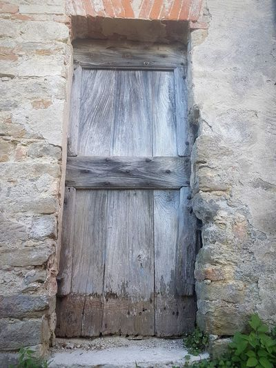 Door Day No People Built Structure Architecture Outdoors Close-up Building Exterior Old House Stone Walls Langhe Alta Langa Old Door