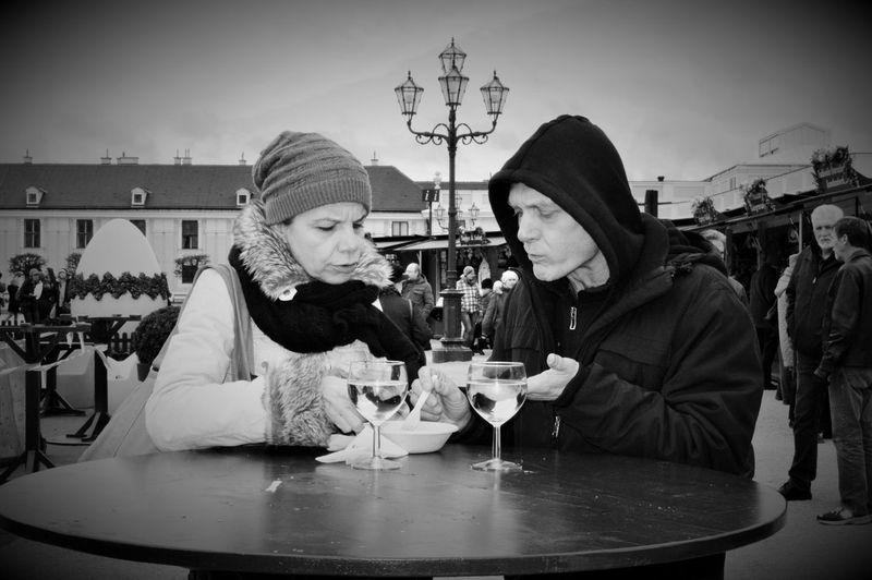 💑 Romantischestrasse Richtigromantisch Ostern 2015 Blackandwhite Photography Streetphotography Straßenphotographie