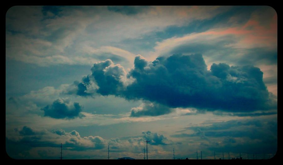 Today is a Cloudy Day and Springtime is here!! Clouds Taking Photos Outdoor Pictures Check This Out Sky_collection Awesome Sky Stormy Sky Oregon Skyporn Clouds And Sky My View Cloudporn Puffy Clouds Blue Sky Looking Out My Front Door May 2016 Love ♥