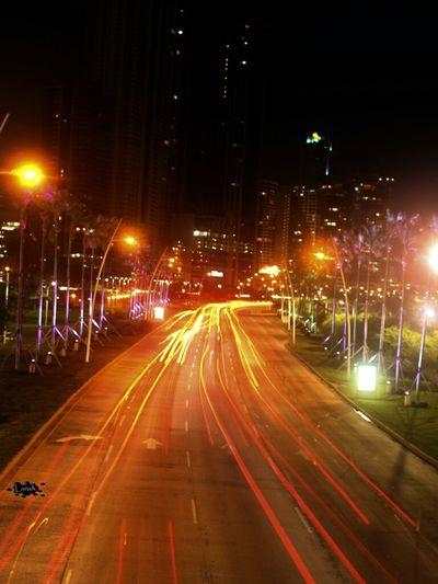 Street Lights City Panamá