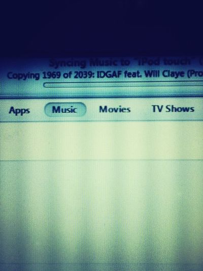 Syncing After The Restore #2000Songs