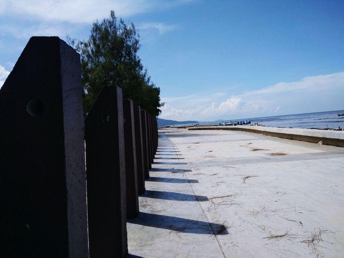 Pantai Murni Perspective Murni Beach Water Sea Beach Sand Sky Cloud - Sky