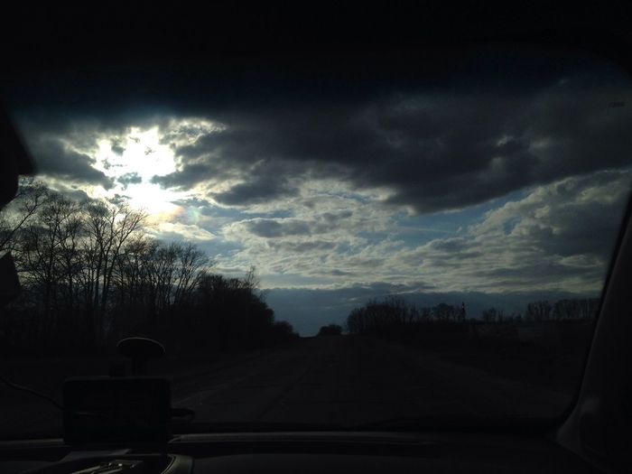 Russian Roads Sky Sky And Clouds Sky_collection Taking Photos Life Hello World Relaxing Filosofía Car People Original #no Photoshop Photo Photoshop Only