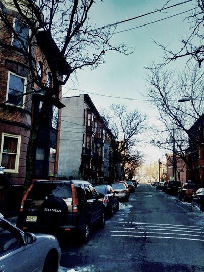 Newark Brownstone houses.