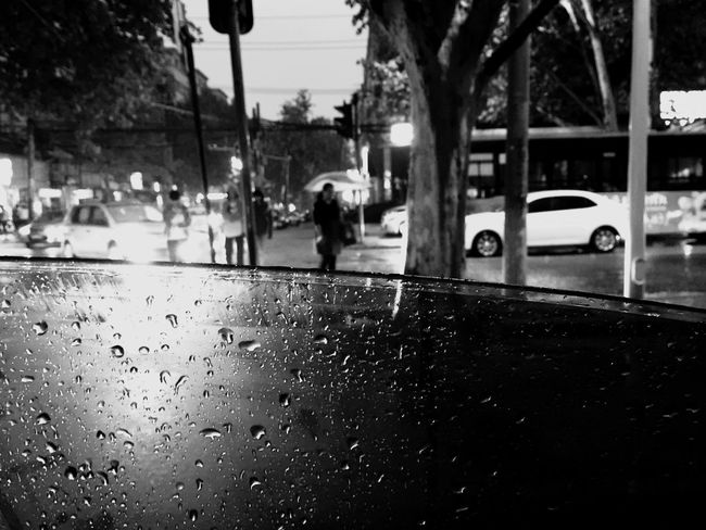 Blackandwhite Rainy Days Steetphoto