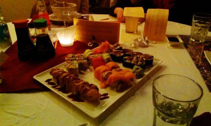 Sushi rolls! California Roll Amy's Special Maki Sushi Delicious Food Porn