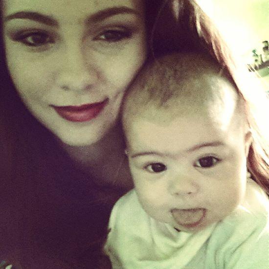 That's Me Babygirl Baby Enjoying Life Taking Photos Selfie