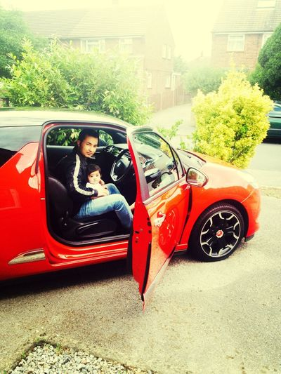Sports car ;) my fam