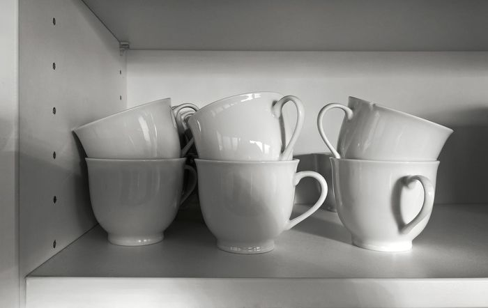 Black And White Close-up Indoors  Kitchen Light And Shadow Reflctions Still Life Surfaces
