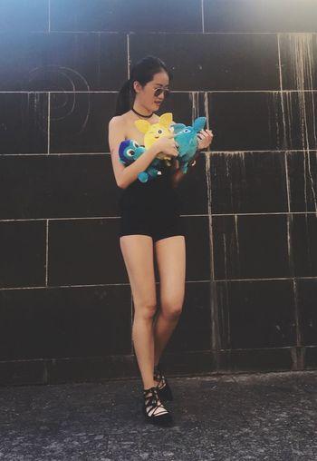 ekka Ekka That's Me Enjoying Life Asiangirl LongLegs Hottie Brisbane