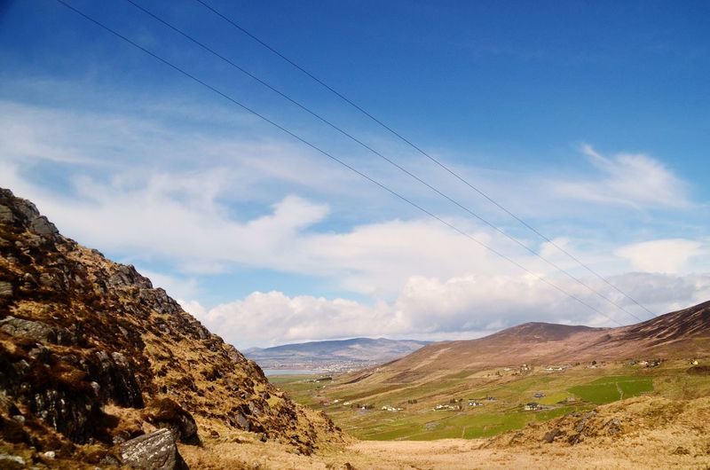 Almost 3 years ago... Ireland Landscape Mountain Sky Clouds Ring Of Kerry Tourism Landscape Mountains Hills
