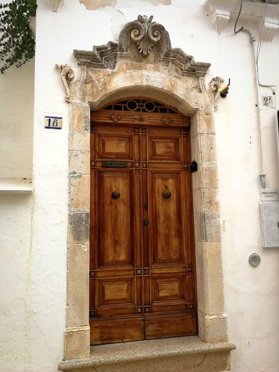 Door Entrance Closed Wood - Material Business Finance And Industry Lock Doorway No People Architecture Façade Built Structure Day Building Exterior Outdoors Golf Club Close-up Cisternino Puglia Italy🇮🇹