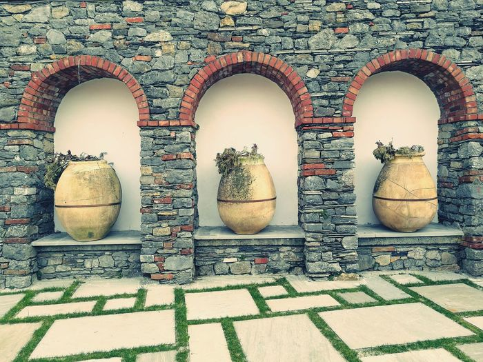 No People Outdoors Close-up Day Travel Destinations Amphoras