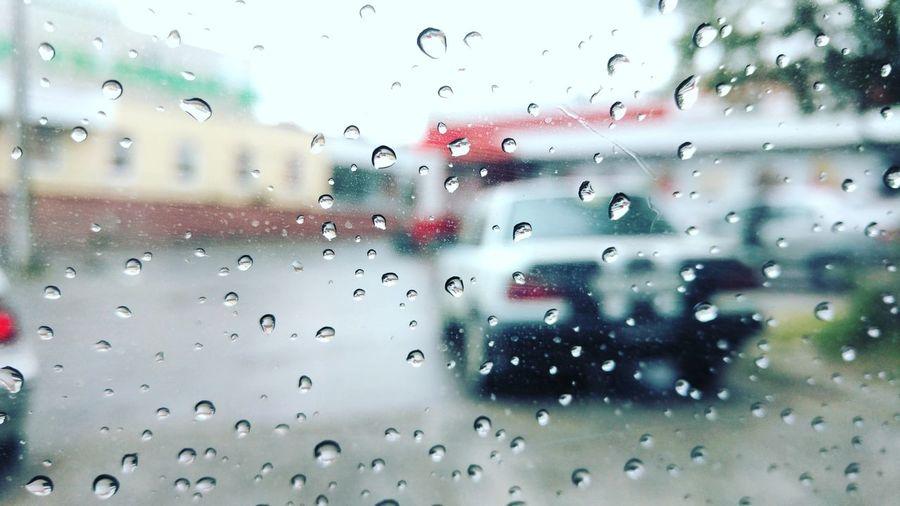 Машина Дождь капля капли окно Car Rain Window