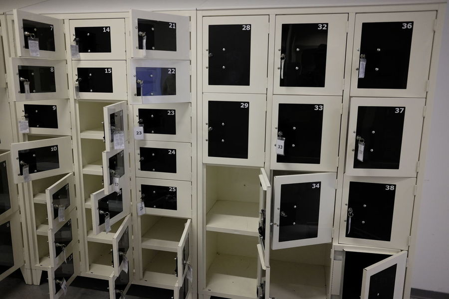 Security Architecture Boxes Day Deposit Depository Indoors  No People Safety Deposit Box White Background