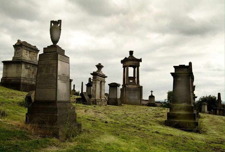 Nature Scotland England & Scotland Walking Death Monuments Memorial Glasgow  Scary