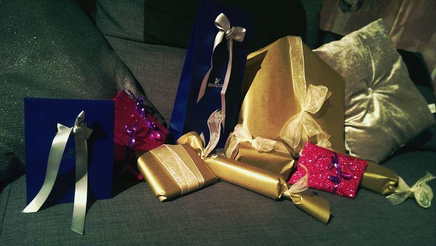 Christmas Gifts Svarovski Gold