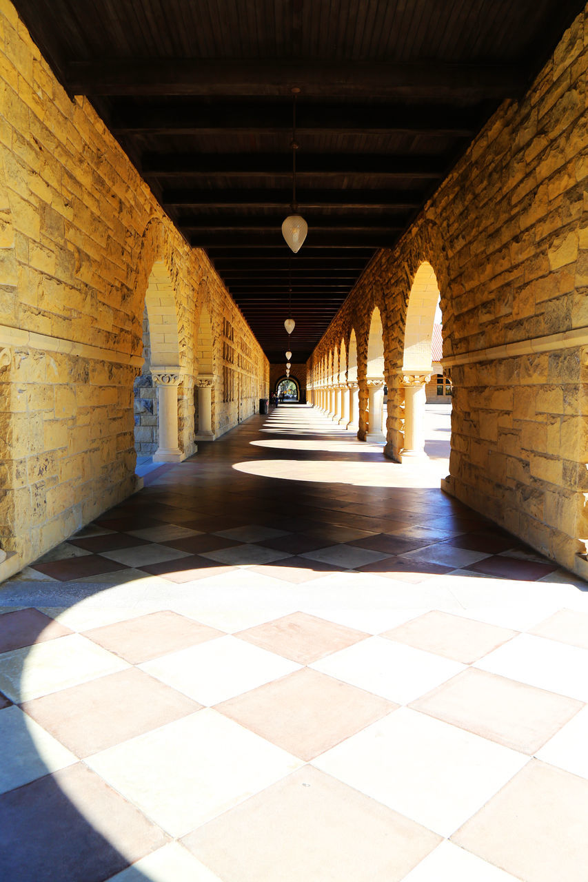 the way forward, architecture, indoors, built structure, history, corridor, no people, day