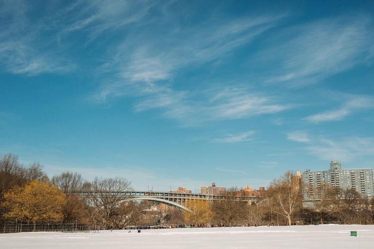 Snow capped parks #instagramuptown #washheights #washingtonheights #inwood #uptown #nyc #newyork #newyorkcity #inwoodhillpark inwoodpark