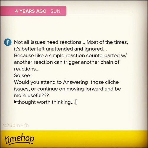 This is what I call Ranting. 4YearsAgo MindingMyOwnBusiness