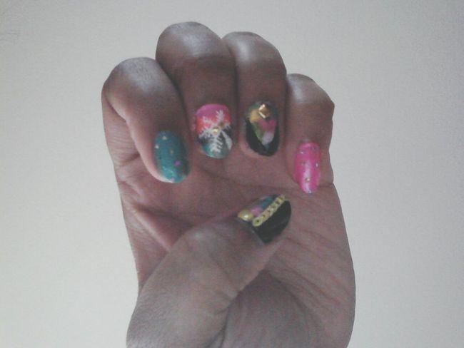 Nail Art My Nails  Nails <3 Fashion #style #stylish #love #TagsForLikes #me #cute #photooftheday #nails #hair #beauty Beautiful Instagood Instafashion [ [
