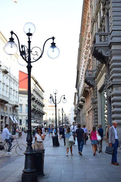 Enjoy The New Normal Italy City Ordinary Day Life Milano Milan
