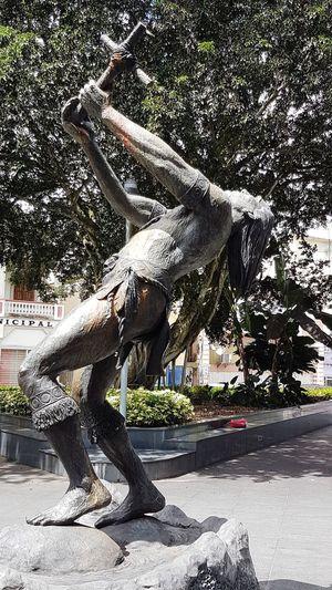 Day Town Square Bronze Statue Bronze Sculpture Bronze Art