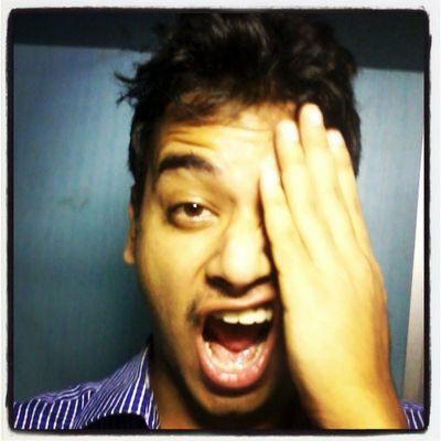 One swollen eye, I try to hide. Swollen Eye Funny Killing Painful Lofi Instapic Instaeye Hair