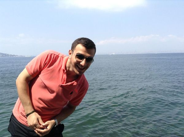 Smile At Burgazada Sea Suny Day