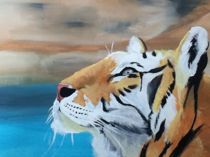 Tiger Painting :3