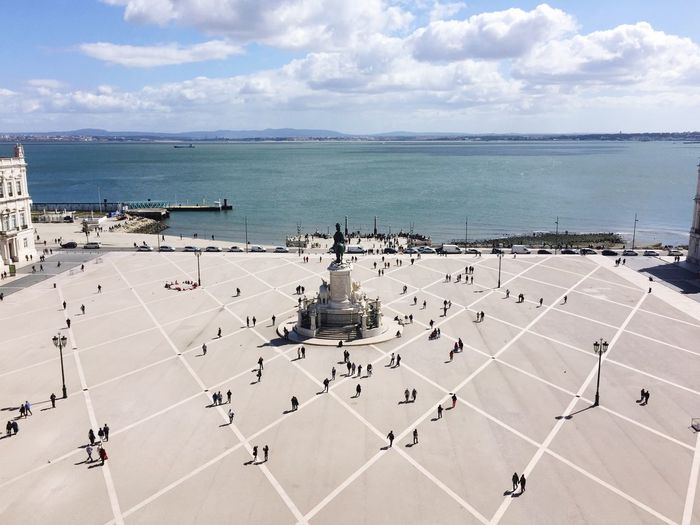 Lisbon Hello World Hanging Out Taking Photos Enjoying Life Praça De Comércio