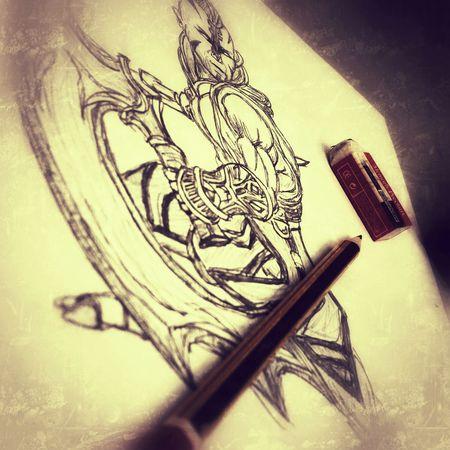 Sketch Drawing Art Portrait