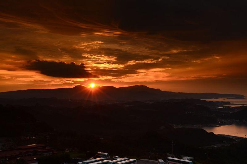 TAIWAN 九份夕陽