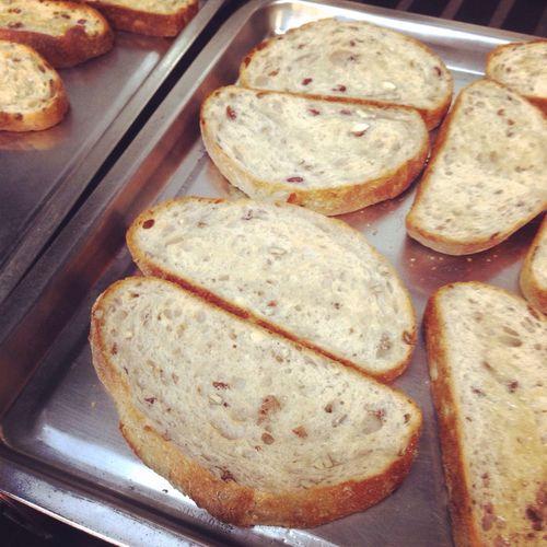 오늘 구운 치아바타로 샌드위치 만들기~ #치아바타 #저녁 #샌드위치 #로스트비프 #baking #cooking #today #먹스타그램 #insadong Baking
