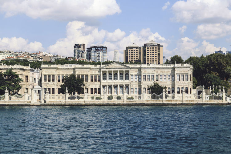 Architecture Building Building Exterior Built Structure Capital Cities  City City Life Cityscape Culture Façade Famous Place Golden Horn International Landmark Istanbul Turkey Residential District Water