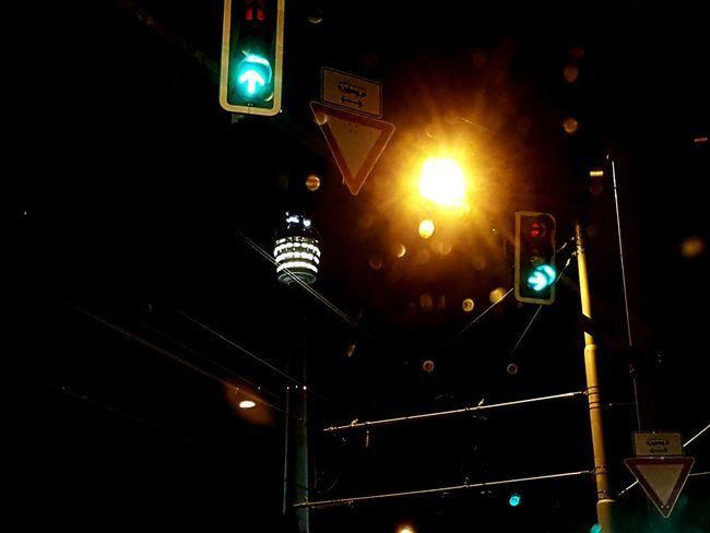 Good night.😴😴 Illuminated Lighting Equipment Transportation Night No People Taking Photos Traffic Traffic Lights Night Lights Snartphonephoto Smartphonephotography