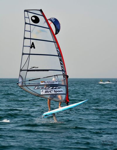 Surfing 🏄♂️ EyeEm Selects Sea Water Sky Horizon Over Water Horizon Nature