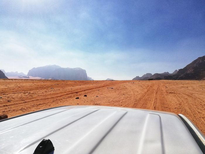 Jeep excursion in the desert