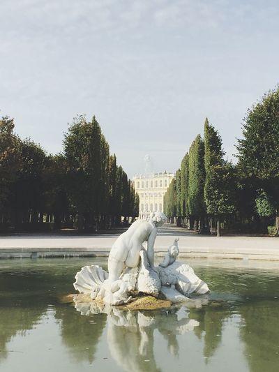 Schönnbrunn Palace Straße Vienna Austria Fountain Garden Europe Travel Travel Photography Tranquil Scene