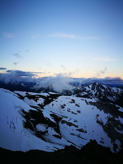 Cloud - Sky Scenics Outdoors Mountain Sky Day Sunset Cold Temperature