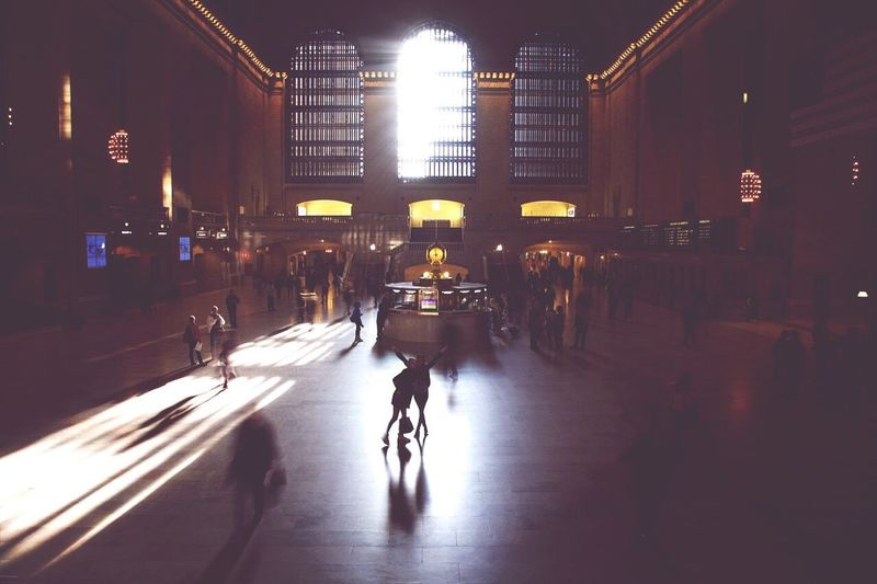 Grand Central Station NYC That's Me On The Road