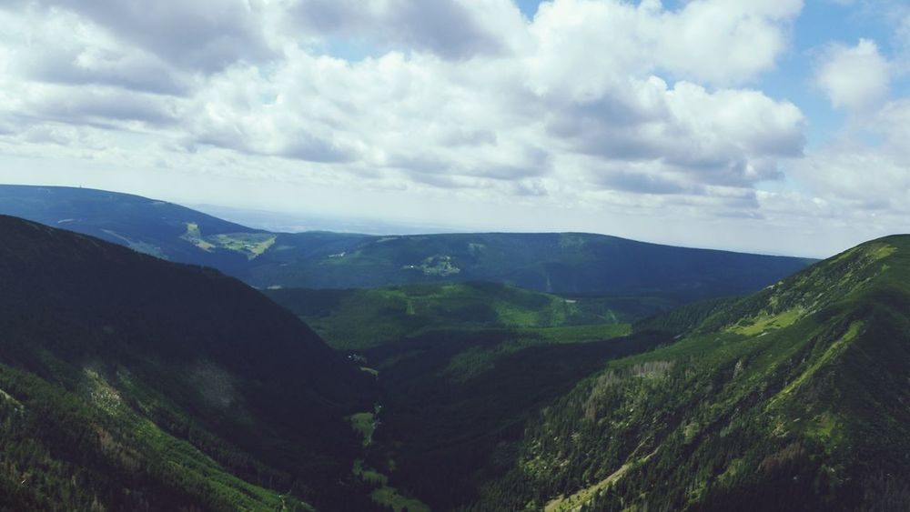 Poland Czech Republic Mountain View First Eyeem Photo Beautiful Nature Karpacz Summer2015