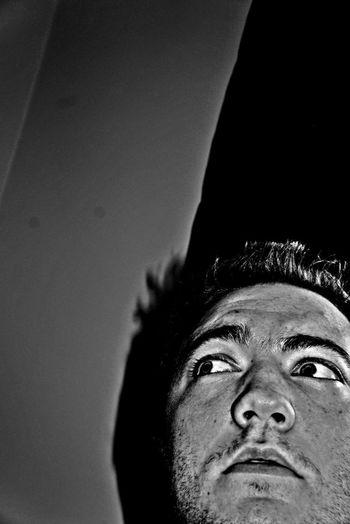 Black And White Self-Portrait HDR Selfportrait I'm Going #selfie Craaazy...