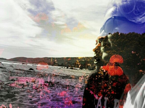 Cayucos My Neices On The Beach